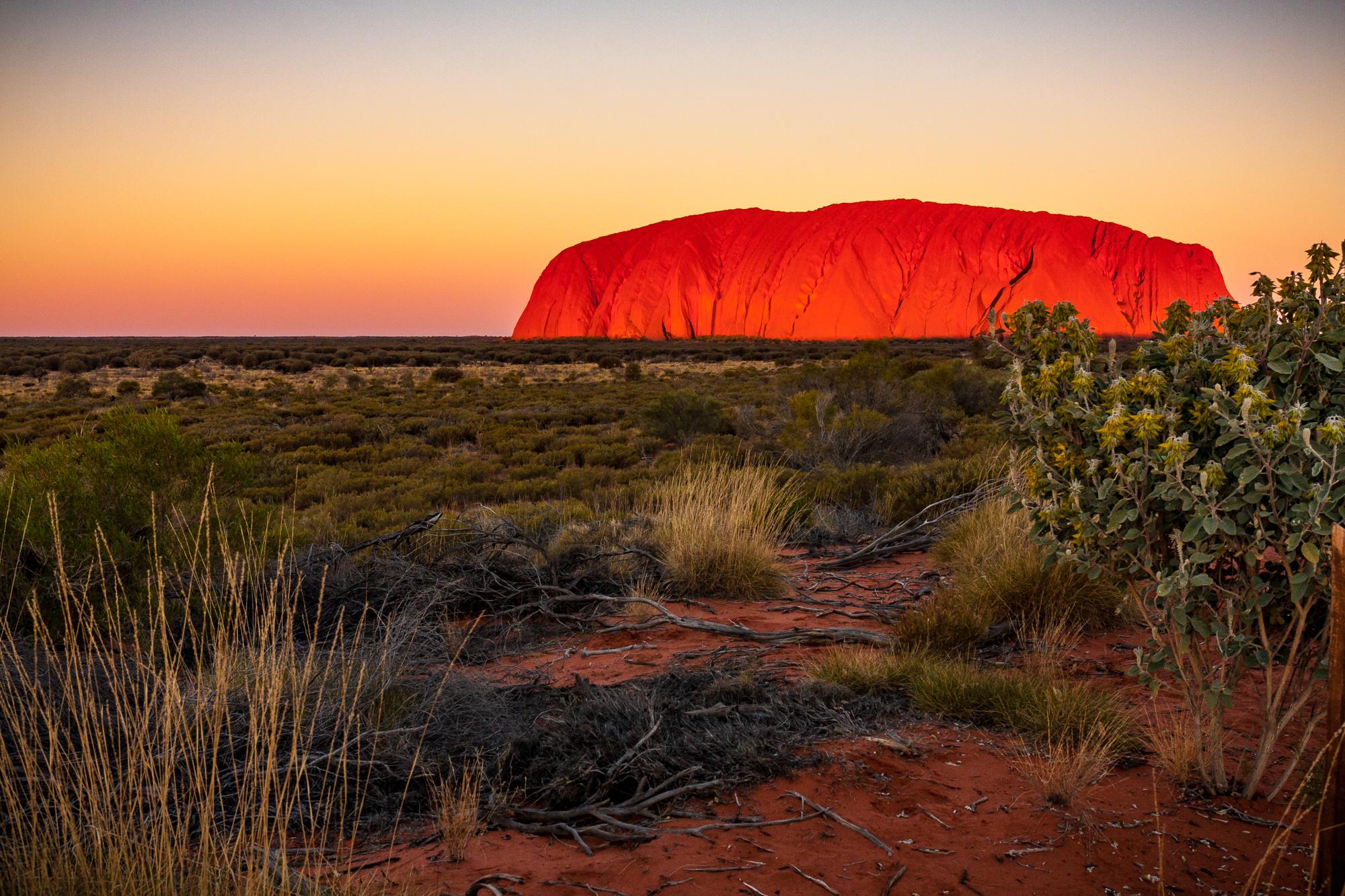 Eyers Rock Australien