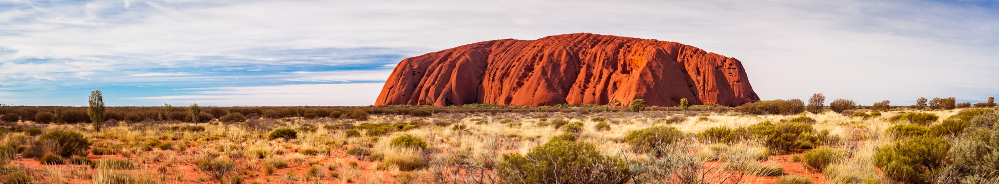 Eyers Roch Australien Panorama
