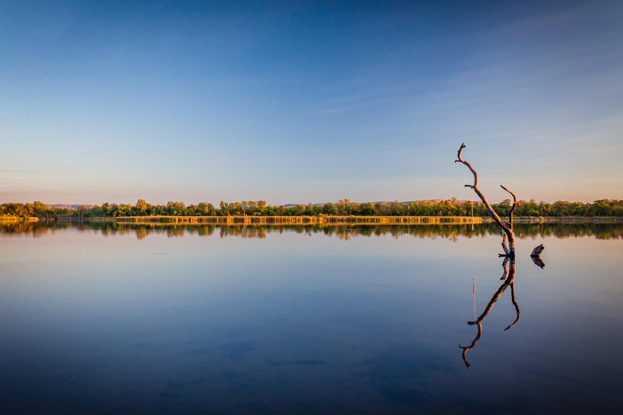 Fluss Spiegelung Australien