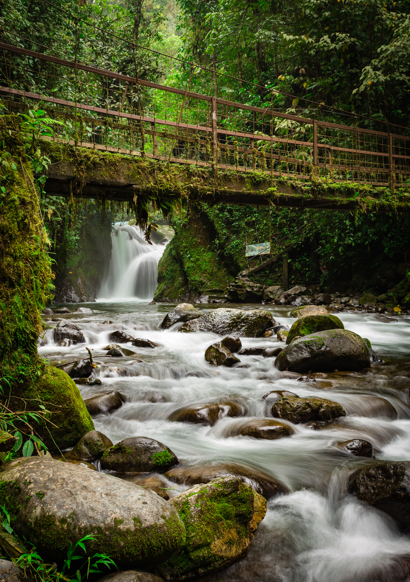Wasserfall Ecuador Mindo