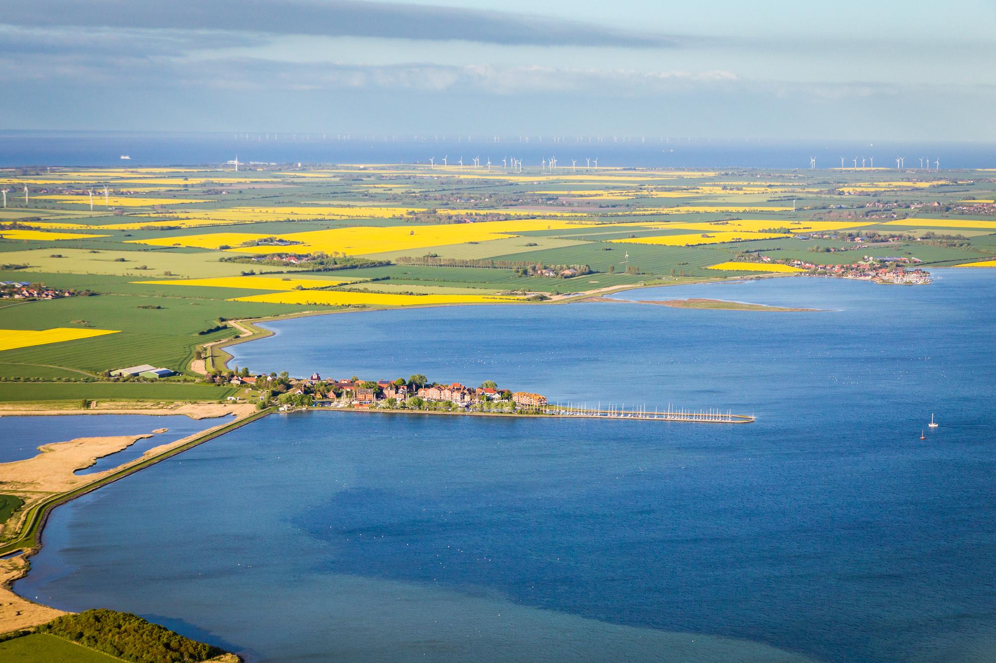 Luftbild Orth Fehmarn