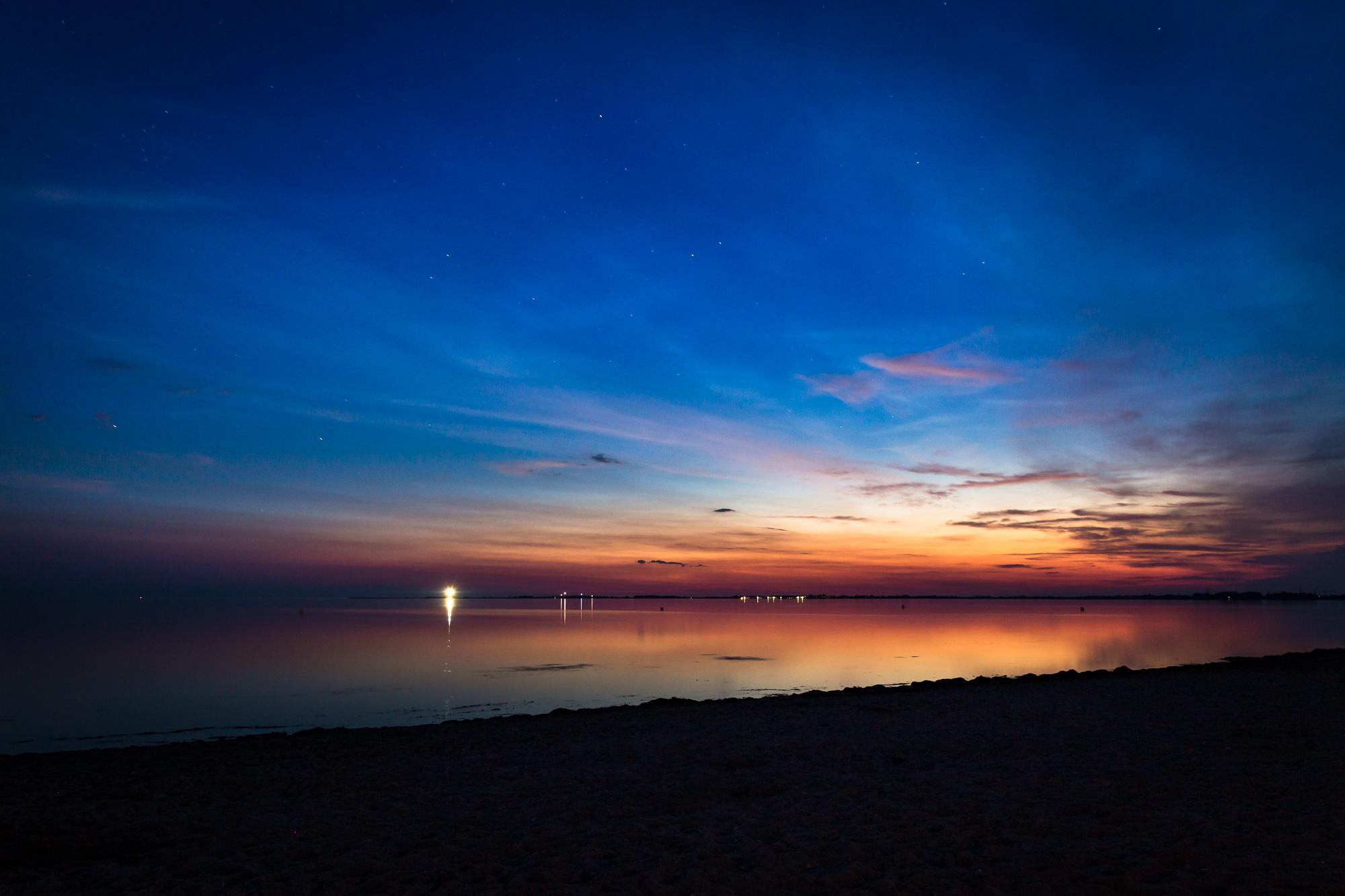 Sonnenuntergang Strukkamp