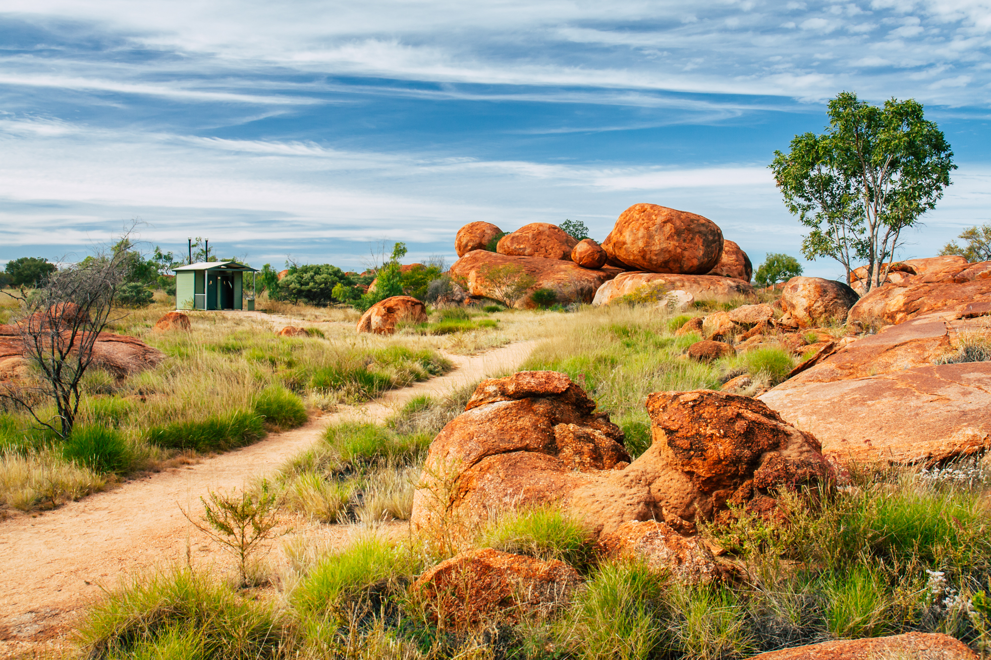 Devils Marbles Australien Outback