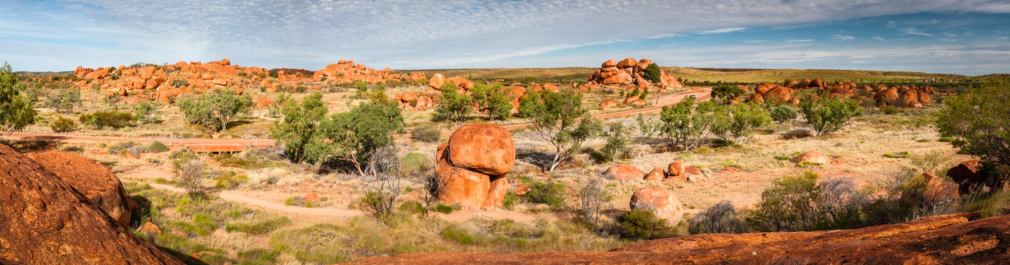 Devils Marbles Outback Australien